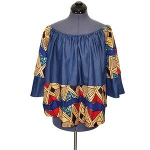 Advance Apparels African Print Top Free Size